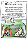 Cartoon: 29. September (small) by chronicartoons tagged michelin,männchen,bip