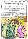 Cartoon: 3. September (small) by chronicartoons tagged wahlrecht,frau,prostituierte,italien,cartoon