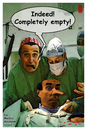 Cartoon: completely empty (small) by zenundsenf tagged neurologist,zamponi,emptyness,zenf,zensenf,zenundsenf,walter,andi