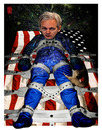 Cartoon: Prometheus - Julian Assange (small) by zenundsenf tagged prometheus,julian,assange,wikileaks,zenf,zensenf,zenundsenf,walter,andi