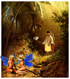 Cartoon: Spitzweg-Butterbeasts (small) by zenundsenf tagged carl spitzweg butterbeasts butterflies composing cartoon illustration homage zenf zensenf zenundsenf andi walter