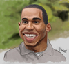 Cartoon: Lewis Hamilton (small) by Darrell tagged lewis hamilton