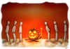Cartoon: halloween (small) by huseyinalparslan tagged halloween