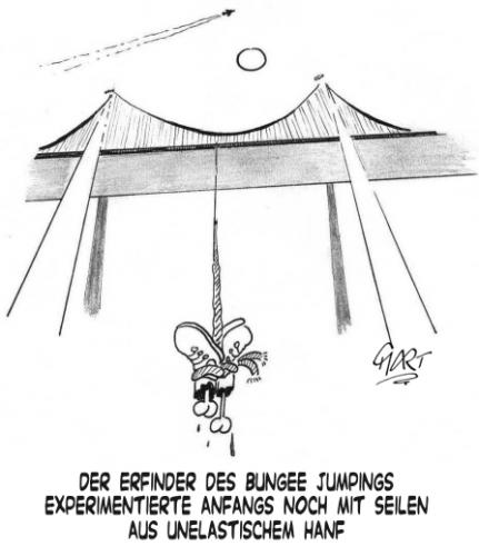 Cartoon: Bungee (medium) by mart tagged mart,jumping,bungee,bloody