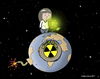 Cartoon: Toxic waste (small) by ELCHICOTRISTE tagged nuclear