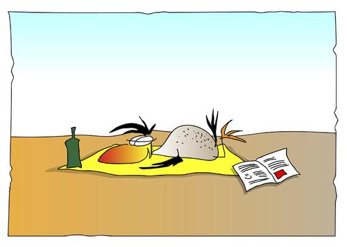 Schöne Ferien By Kado Media Culture Cartoon Toonpool