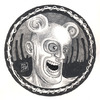 Cartoon: Rev. Splonk going insane (small) by murderama tagged pencils,paper,horror,death,reverend,splonk
