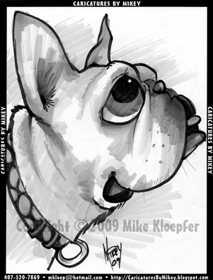 Cartoon: Mikey_MBulldogBoullion (medium) by mikeyzart tagged bulldog,dog,cartoon,caricature,marker