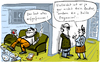 Cartoon: Kalte Progression (small) by kittihawk tagged kittihawk,2014,kalte,progression,bruder,alles,aufgefressen,zu,besuch,steuergesetze,lohnerhöhung,netto,brutto,abzüge,weniger,auffressen