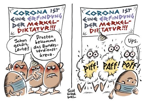 Karikatur Drosten