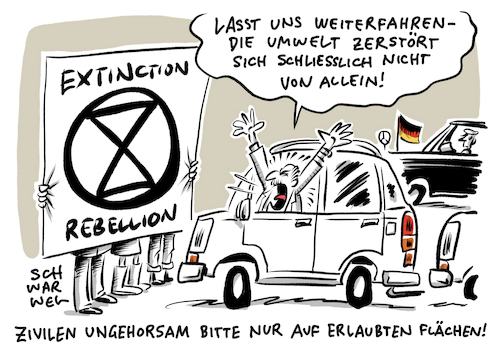Extinction Rebellion Klimakrise