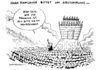 Cartoon: Energiekrise Fracking (small) by Schwarwel tagged energie,energiekrise,krise,streit,ramsauer,union,partei,noah,fracking,hinterhand,karikatur,schwarwel,abstimmung,dafür,dagegen