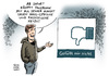 Cartoon: Facebook Dislike Button (small) by Schwarwel tagged hass,rassismus,mark,zuckerberg,facebook,dislike,button,like,www,social,media,soziale,netzwerke