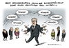 Cartoon: Gauck NPD Spinner (small) by Schwarwel tagged grundsatzurteil,urteil,gauck,npd,anhänger,spinner,bundespräsident,merkel,obama,putin,karikatur,schwarwel,politiker,politik,partei,rechts,nazi