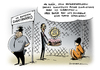 Cartoon: Guantanamo Obama (small) by Schwarwel tagged guantanamo,obama,verwahranstalt,gefängnis,terror,terrorismus,gefangenenlager,gefangener,lager,us,usa,amerika,folter,verdächtige,karikatur,schwarwel,qual,schmerzen