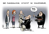 Cartoon: Kalte Progression GroKo (small) by Schwarwel tagged kalte,progression,groko,lition,plant,steuersenkungen,karikatur,schwarwel