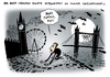 Cartoon: London verwaist Olympia (small) by Schwarwel tagged olympia,sport,spiele,london,mary,poppins,karikatur,schwarwel,geisterstadt,stadt,großbritannien,great,britain,cameron,volk,bürger,bewohner