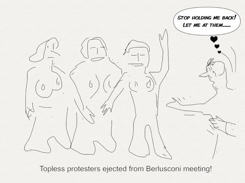 Cartoon: Politics Roman style (medium) by Toonopia tagged elections