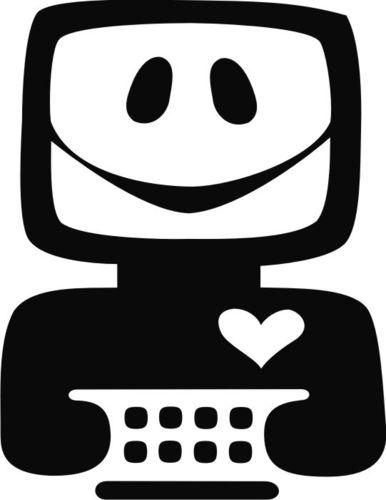 friendly computer logo by etc business cartoon toonpool