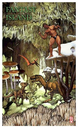 Fantasy Island By Edda Von Sinnen Nature Cartoon Toonpool