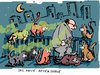 Cartoon: aftershave (small) by bob tagged aftershave,parfum,geruch,gestank,rendezvous,katzen,bob,hack
