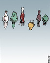Cartoon: birds (small) by bob tagged vögel,birds