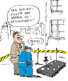 Cartoon: Domino-Killer (small) by bob tagged domino polizei tatort mord mörder killer bob hack