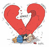 Cartoon: The life triangle (small) by ugurgunel tagged love,relationships,heartbreake,heart,feel,sadness,depdression,deppressing,melancholy,pain