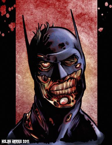 Zombie Batman Comic Zombie Batman By nolan...
