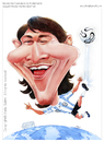 Cartoon: Lionel Messi (small) by Abdul Salim tagged messi football fifa soccer argentina