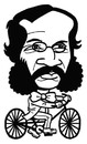 Cartoon: toon 33 (small) by kernunnos tagged mutton,chops,huge,freakish,sideburns,what,bizarre,hair,people,sure,were,dumb,back,then