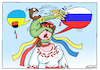 Cartoon: Interdiction of speaking Russian (small) by Igor Kolgarev tagged ukraine,language,speaking,russian,nazi,kiev