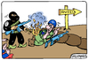 Cartoon: Threat to Europe (small) by Igor Kolgarev tagged eu,nato,isis,russia,terror,terrorism,europe