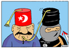 Cartoon: Turkey and ISIS (small) by Igor Kolgarev tagged turkey,terrorists,islam,oil,trade,business,isis,türkei,terroristen,öl,handel,unternehmen