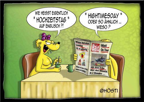 Hochzeitstag By Hosti Love Cartoon Toonpool