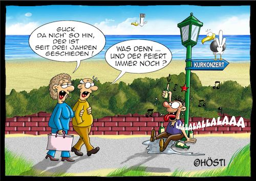 Cartoon: Höstis Emma und Konsorten (medium) by Hösti tagged hösti,cartoons,hoesti,stephan,höstermann,emma,und,konsorten,möwe