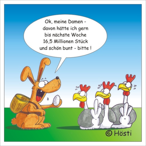 kleiner ostergru an alle by h sti nature cartoon toonpool. Black Bedroom Furniture Sets. Home Design Ideas
