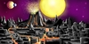 Cartoon: Lost World (small) by Hösti tagged digital,airbrush,phantastic,worlds,space,fantastische,welten,hösti
