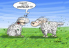 Cartoon: windblind (small) by Hösti tagged schafe,wind,blind,hösti,hösticartoons