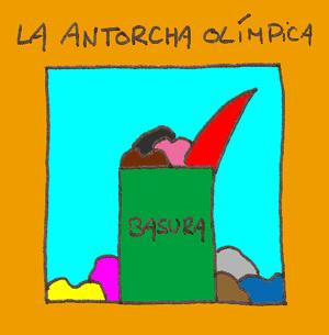 Cartoon: La antorcha Olimpica (medium) by lpedrocchi tagged pekin,jo,humour,