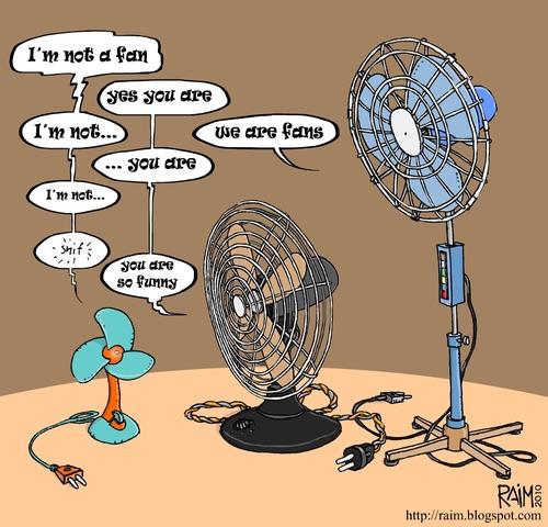 fans By raim | Media & Culture Cartoon | TOONPOOL