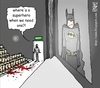 Cartoon: Aurora tragedy (small) by raim tagged aurora batman tragedy