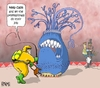 Cartoon: ebola (small) by raim tagged ebola,virus,professionals