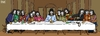 Cartoon: fawkes last supper (small) by raim tagged fawkes,last,supper