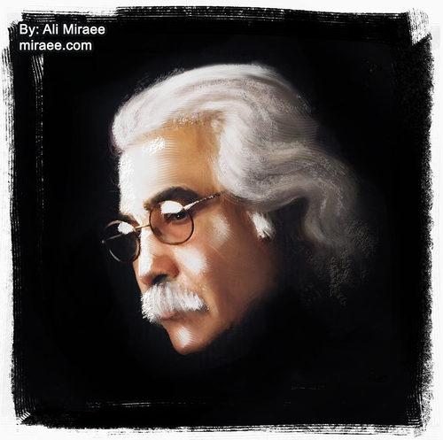 Iraj Janatie Ataie Iranian Poet By Ali Miraee | Famous ...