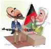 Cartoon: Afghan warlord 2 (small) by Shahid Atiq tagged afghanistan
