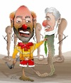 Cartoon: Afghan warlord 3 (small) by Shahid Atiq tagged afghanischen