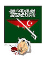 Cartoon: JAMAL KHASHOGGI ! (small) by Afghancartoon tagged afghanistan,balkh,helmand,kabul,london,nangarhar,attack