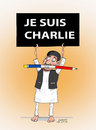 Cartoon: JE SUIS CHARLIE (small) by Afghancartoon tagged 0196