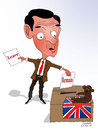 Cartoon: UK Leave or Remain ? (small) by Shahid Atiq tagged afghanistan,kabul,syria,iran,switzerland,schweiz,usa,france,football,safi,cartooneu,uk
